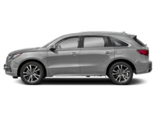 Lunar Silver Metallic 2019 Acura MDX Pictures MDX FWD w/Advance/Entertainment Pkg photos side view