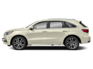 White Diamond Pearl 2019 Acura MDX Pictures MDX FWD w/Advance/Entertainment Pkg photos side view