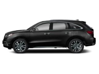 Majestic Black Pearl 2019 Acura MDX Pictures MDX SH-AWD w/Advance Pkg photos side view