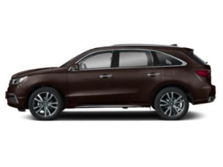 Canyon Bronze Metallic 2019 Acura MDX Pictures MDX SH-AWD w/Advance Pkg photos side view