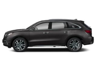 Modern Steel Metallic 2019 Acura MDX Pictures MDX SH-AWD w/Advance Pkg photos side view