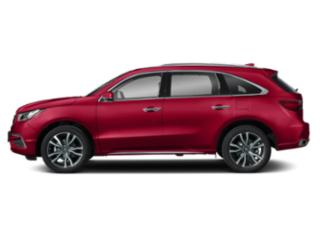 Performance Red Pearl 2019 Acura MDX Pictures MDX SH-AWD w/Advance Pkg photos side view
