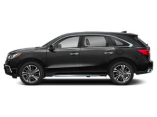 Majestic Black Pearl 2019 Acura MDX Pictures MDX FWD w/Technology/Entertainment Pkg photos side view