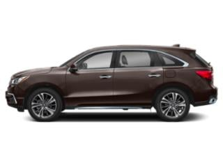 Canyon Bronze Metallic 2019 Acura MDX Pictures MDX FWD w/Technology/Entertainment Pkg photos side view