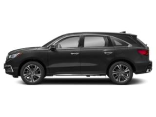 Majestic Black Pearl 2019 Acura MDX Pictures MDX FWD w/Technology Pkg photos side view