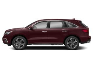 Performance Red Pearl 2019 Acura MDX Pictures MDX FWD w/Technology Pkg photos side view
