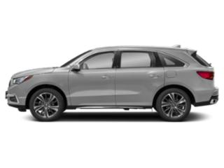 Lunar Silver Metallic 2019 Acura MDX Pictures MDX FWD w/Technology Pkg photos side view
