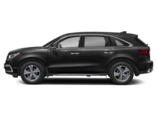Majestic Black Pearl 2019 Acura MDX Pictures MDX FWD photos side view