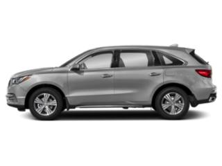 Lunar Silver Metallic 2019 Acura MDX Pictures MDX SH-AWD photos side view