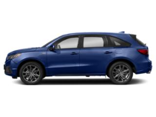 Apex Blue Pearl 2019 Acura MDX Pictures MDX SH-AWD w/Technology/A-Spec Pkg photos side view