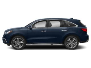 Fathom Blue Pearl 2019 Acura MDX Pictures MDX SH-AWD w/Technology Pkg photos side view