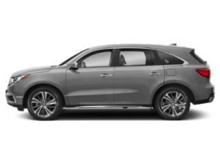 Lunar Silver Metallic 2019 Acura MDX Pictures MDX SH-AWD w/Technology Pkg photos side view