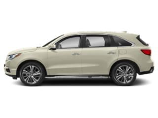 White Diamond Pearl 2019 Acura MDX Pictures MDX SH-AWD w/Technology Pkg photos side view