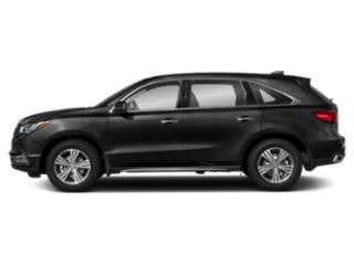 Majestic Black Pearl 2019 Acura MDX Pictures MDX SH-AWD photos side view