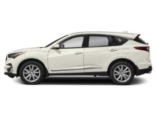 White Diamond Pearl 2019 Acura RDX Pictures RDX FWD photos side view