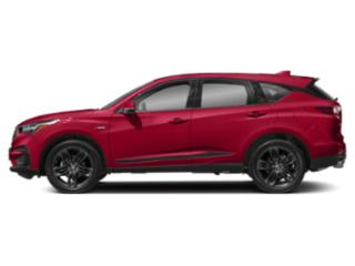 Performance Red Pearl 2019 Acura RDX Pictures RDX FWD w/A-Spec Pkg photos side view