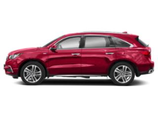 Performance Red Pearl 2019 Acura MDX Pictures MDX SH-AWD Sport Hybrid w/Advance Pkg photos side view