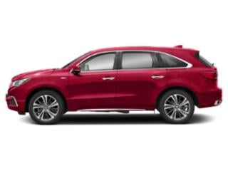 Performance Red Pearl 2019 Acura MDX Pictures MDX SH-AWD Sport Hybrid w/Technology Pkg photos side view