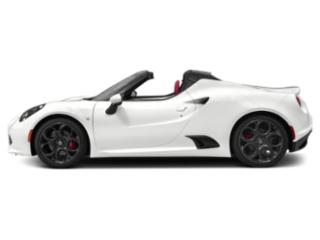 White 2019 Alfa Romeo 4C Spider Pictures 4C Spider Spider photos side view
