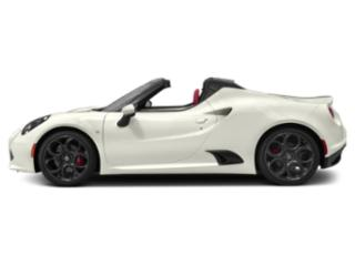 Madreperla White Tri-Coat 2019 Alfa Romeo 4C Spider Pictures 4C Spider Spider photos side view
