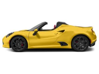 Giallo Prototipo 2019 Alfa Romeo 4C Spider Pictures 4C Spider Spider photos side view