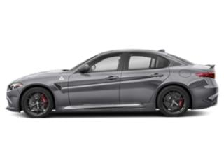 Silverstone Gray Metallic 2019 Alfa Romeo Giulia Pictures Giulia Ti Sport AWD photos side view