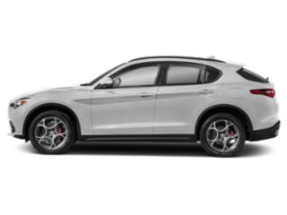 Alfa White 2019 Alfa Romeo Stelvio Pictures Stelvio Sport RWD photos side view