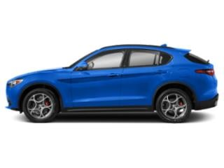 Misano Blue Metallic 2019 Alfa Romeo Stelvio Pictures Stelvio Sport RWD photos side view