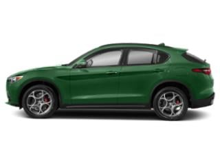 Verde Visconti Metallic 2019 Alfa Romeo Stelvio Pictures Stelvio Sport RWD photos side view