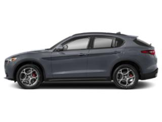 Stromboli Gray Metallic 2019 Alfa Romeo Stelvio Pictures Stelvio Ti AWD photos side view