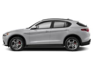 Trofeo White Tri-Coat 2019 Alfa Romeo Stelvio Pictures Stelvio Ti AWD photos side view