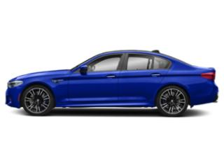 Marina Bay Blue Metallic 2019 BMW M5 Pictures M5 Sedan photos side view