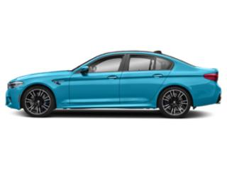 Snapper Rocks Blue Metallic 2019 BMW M5 Pictures M5 Sedan photos side view
