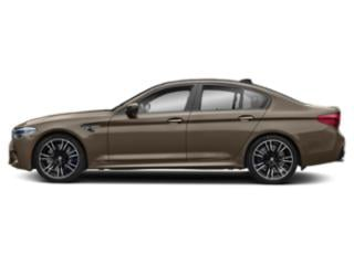 Champagne Quartz Metallic 2019 BMW M5 Pictures M5 Sedan photos side view