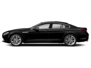 Jet Black 2019 BMW 6 Series Pictures 6 Series 640i Gran Coupe photos side view