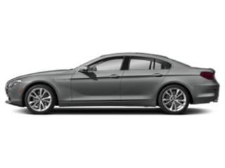 Space Gray Metallic 2019 BMW 6 Series Pictures 6 Series 640i Gran Coupe photos side view