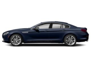 Tanzanite Blue Metallic 2019 BMW 6 Series Pictures 6 Series 640i Gran Coupe photos side view