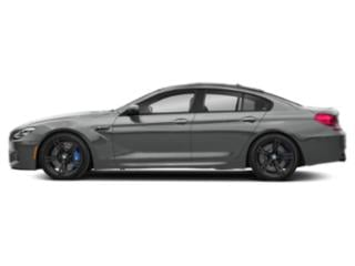 Space Gray Metallic 2019 BMW M6 Pictures M6 Gran Coupe photos side view