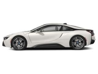Crystal White Pearl Metallic w/Frozen Gray Accent 2019 BMW i8 Pictures i8 Coupe photos side view
