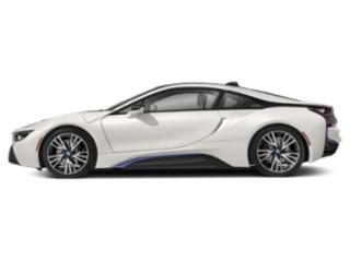 Crystal White Pearl Metallic w/BMW i Frozen Blue 2019 BMW i8 Pictures i8 Coupe photos side view