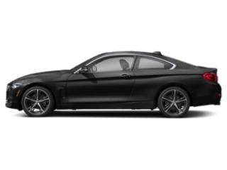Jet Black 2019 BMW 4 Series Pictures 4 Series 430i Coupe photos side view