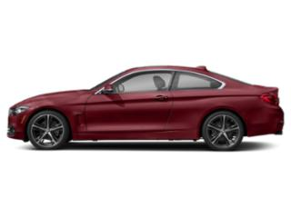 Melbourne Red Metallic 2019 BMW 4 Series Pictures 4 Series 430i Coupe photos side view