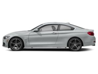 Glacier Silver Metallic 2019 BMW 4 Series Pictures 4 Series 430i Coupe photos side view