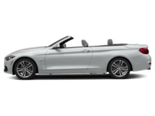 Glacier Silver Metallic 2019 BMW 4 Series Pictures 4 Series 440i Convertible photos side view