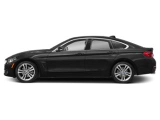 Black Sapphire Metallic 2019 BMW 4 Series Pictures 4 Series 430i Gran Coupe photos side view