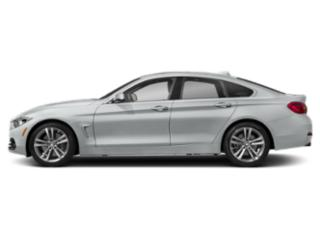 Glacier Silver Metallic 2019 BMW 4 Series Pictures 4 Series 440i xDrive Gran Coupe photos side view