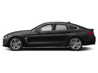 Black Sapphire Metallic 2019 BMW 4 Series Pictures 4 Series 440i xDrive Gran Coupe photos side view