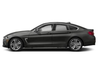 Citrin Black Metallic 2019 BMW 4 Series Pictures 4 Series 440i xDrive Gran Coupe photos side view