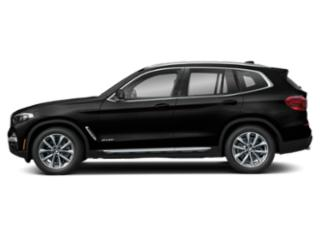 Jet Black 2019 BMW X3 Pictures X3 xDrive30i Sports Activity Vehicle photos side view