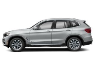Glacier Silver Metallic 2019 BMW X3 Pictures X3 xDrive30i Sports Activity Vehicle photos side view